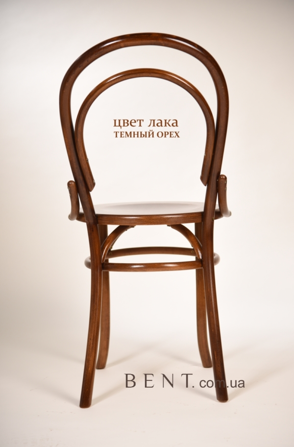 Chair BENT Bukovina brown back