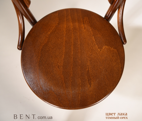 Chair BENT Bukovina brown big zoom