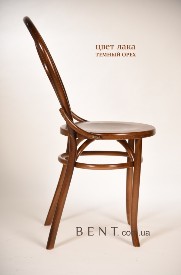 Chair BENT Bukovina brown side