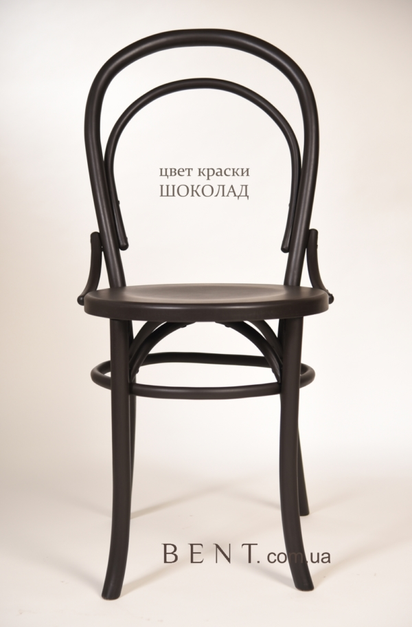 Chair BENT Bukovina chocolate 1