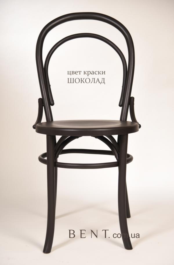 Chair BENT Bukovina chocolate 1