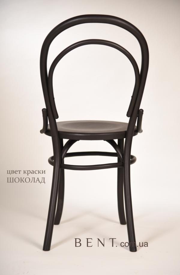 Chair BENT Bukovina chocolate back