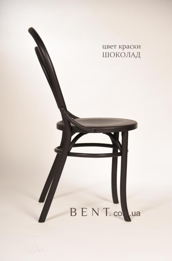 Chair BENT Bukovina chocolate side