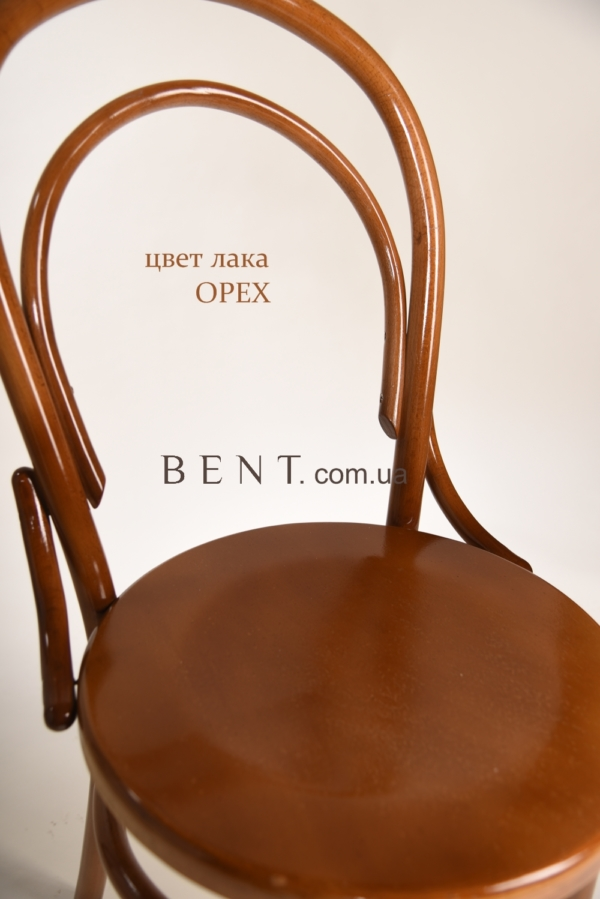 Chair BENT Bukovina light brown zoom
