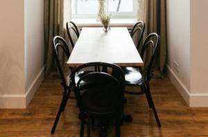 Венские деревянные стулья Bent в дизайне кафе