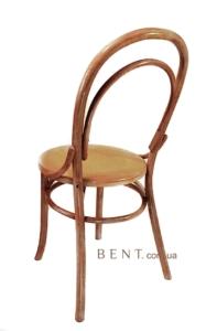 Венский стул Буковина вид сзади, светлый