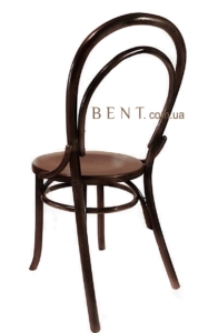 Венский стул Буковина вид сзади