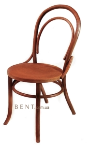 Венский стул Буковина цвет красное дерево