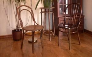 Венские стулья BENT в интерьере частного дома