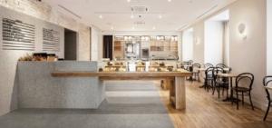Деревянные венские стулья в кафе от производителя Bent