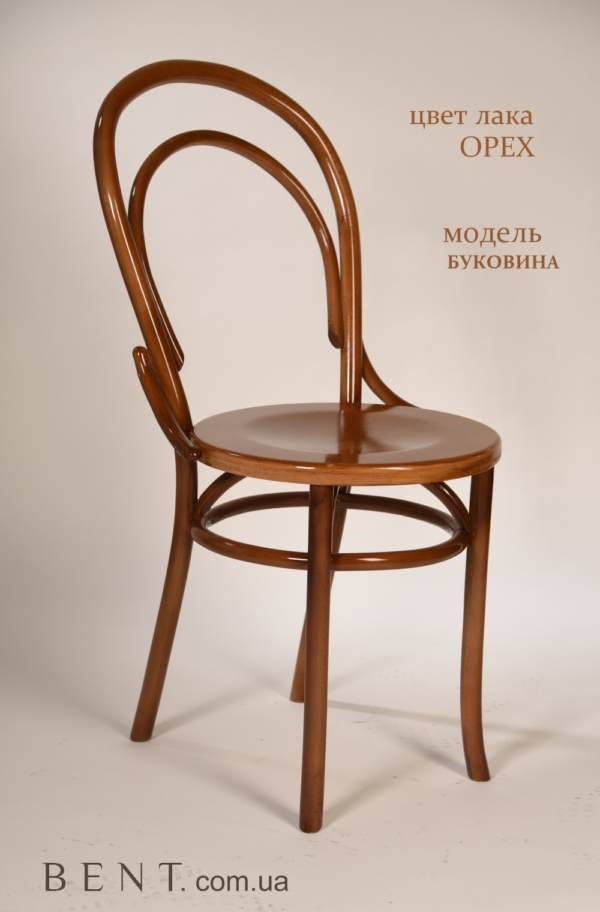 Chair BENT Bukovina light brown