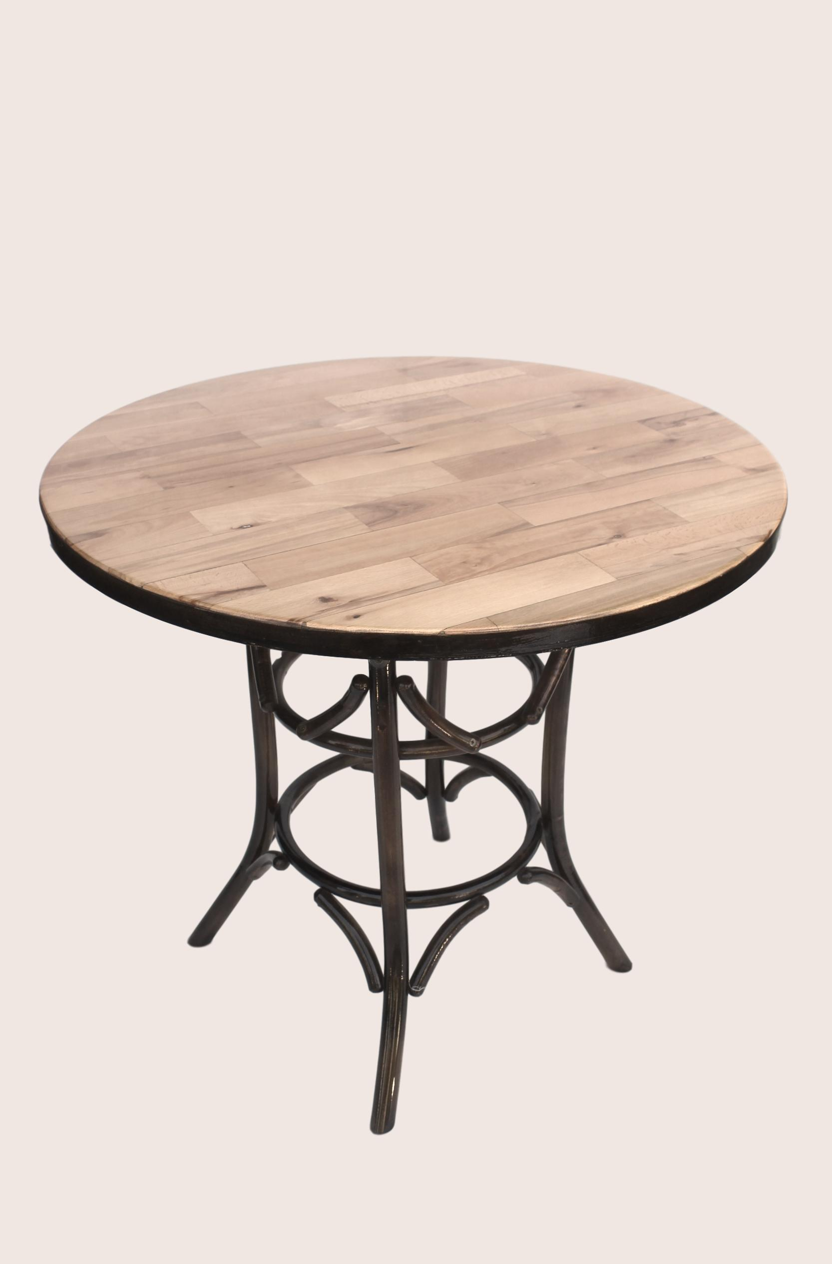 Dinner Table natural wood buk