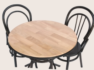 Wooden table with chair wholesale